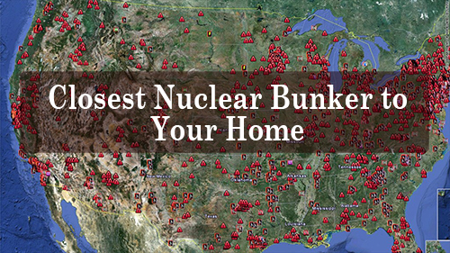Closest Nuclear Bunker to Your Home
